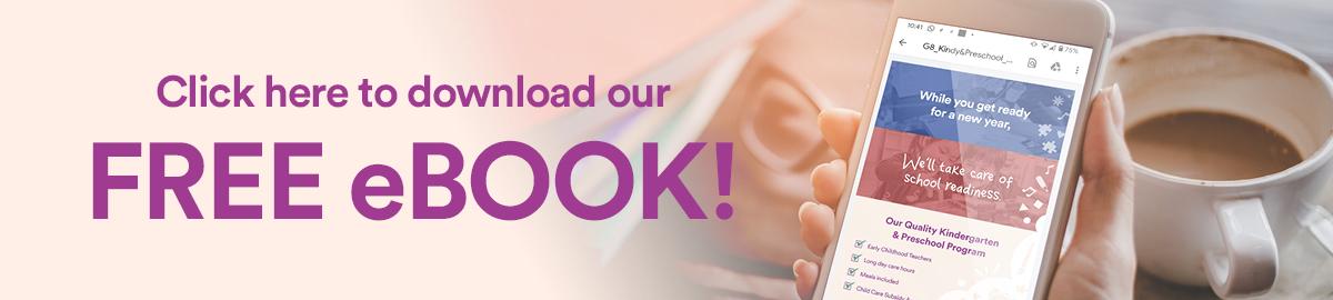 Download our Kindergarten & Preschool eBook